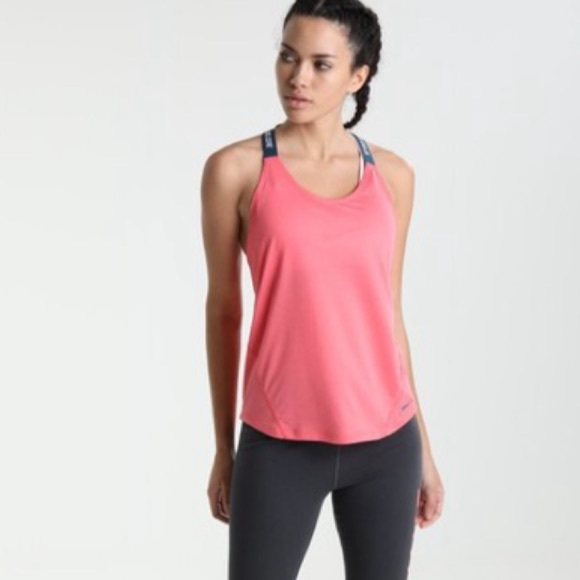 NIKE Elastika Dri Fit Cross Strap Tank